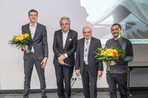 Die Sieger des Architekturpreises 2016. Foto: Ulrich van Stipriaan